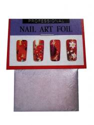 lattfolie for Nail Art Silver