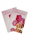 10 gift certificates, orchid